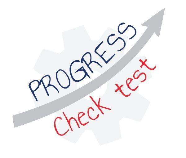 progress check test