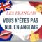 les français ne sont pas nuls en anglais