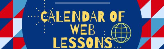Participez en direct à nos Webinar en Anglais!