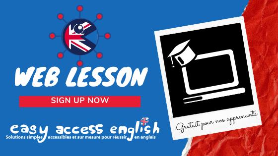 La Web Lesson de Easy Access English