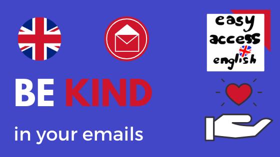 Ecrire un e-mail en anglais