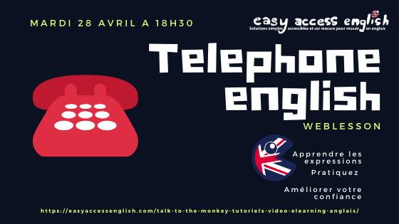 Apprendre à parler anglais au téléphone