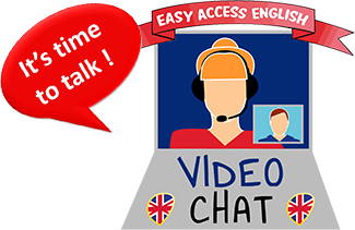 Video Chat - cours d'anglais