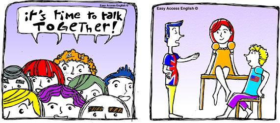 Cours d'anglais en petit groupe à Montpellier