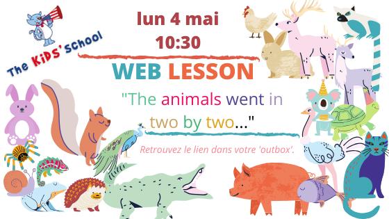 Cours d'anglais pour enfants par vidéo